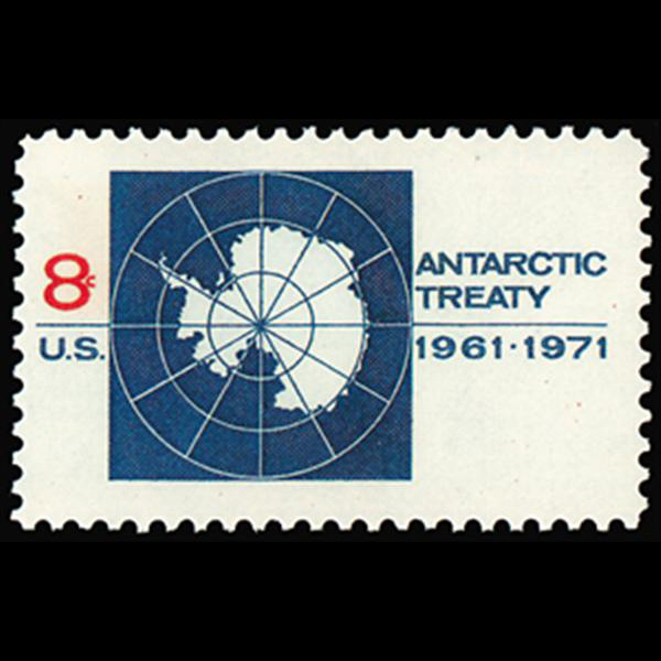 1971 8c Antarctic Treaty Mint Single