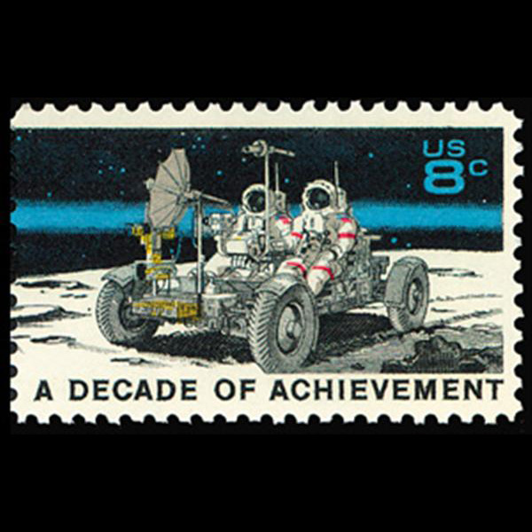 1971 8c Lunar Rover Mint Single
