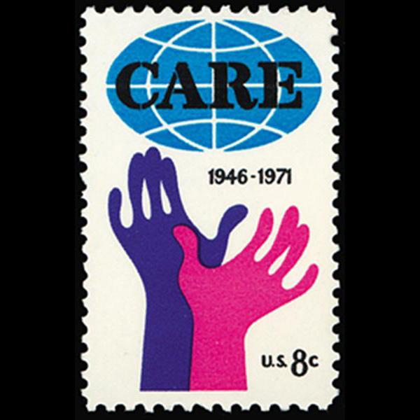 1971 8c CARE Mint Single