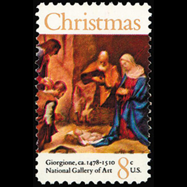1971 8c Christmas Nativity Mint Single