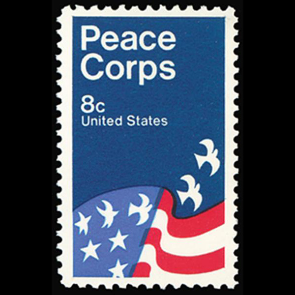 1972 8c Peace Corps Mint Single