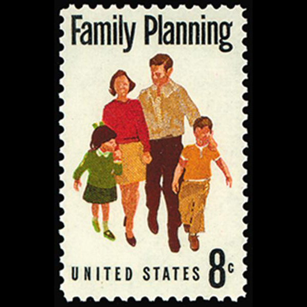 1972 8c Family Planning Mint Single