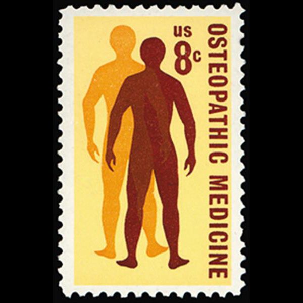 1972 8c Osteopathic Medicine Mint Single