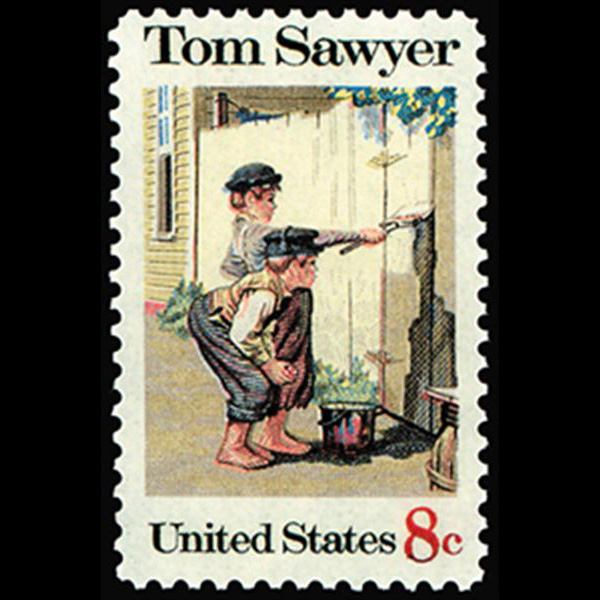 1972 8c Tom Sawyer-Folklore Mint Single