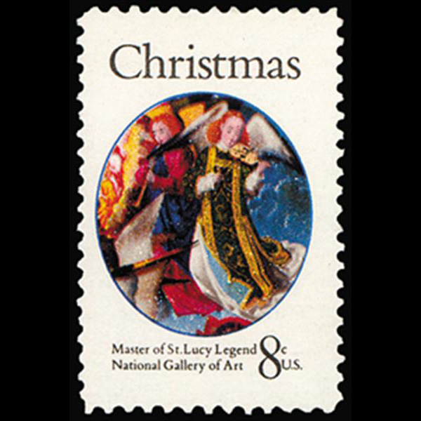 1972 8c Christmas-Virgin Mother Mint Single