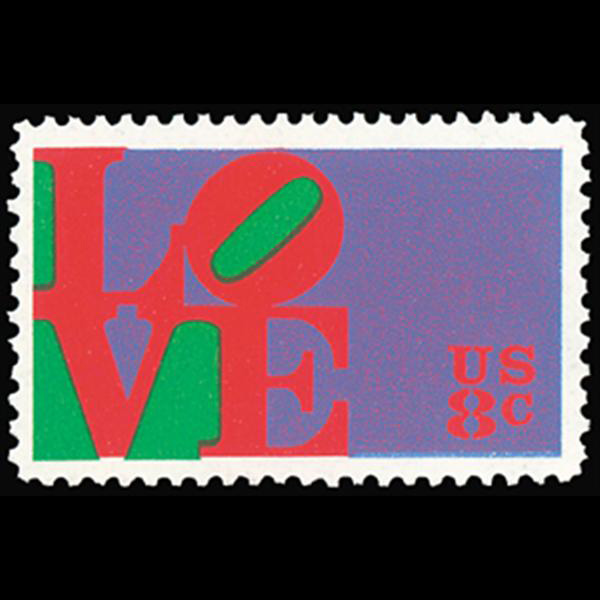 1973 8c Love Mint Single