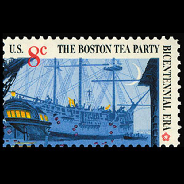 1973 8c Boston Tea Party-Ship Mint Single