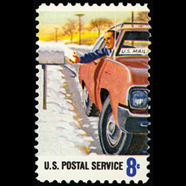 1973 8c Rural Delivery Mint Single