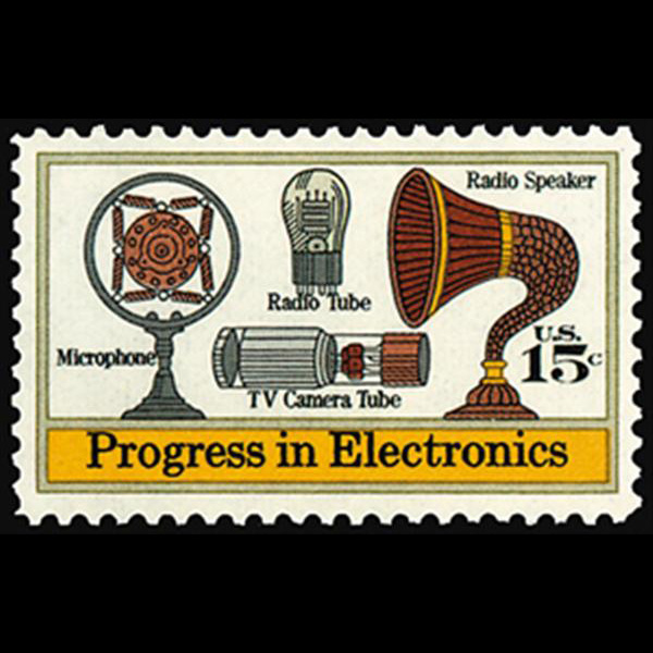 1973 15c Electronics Mint Single