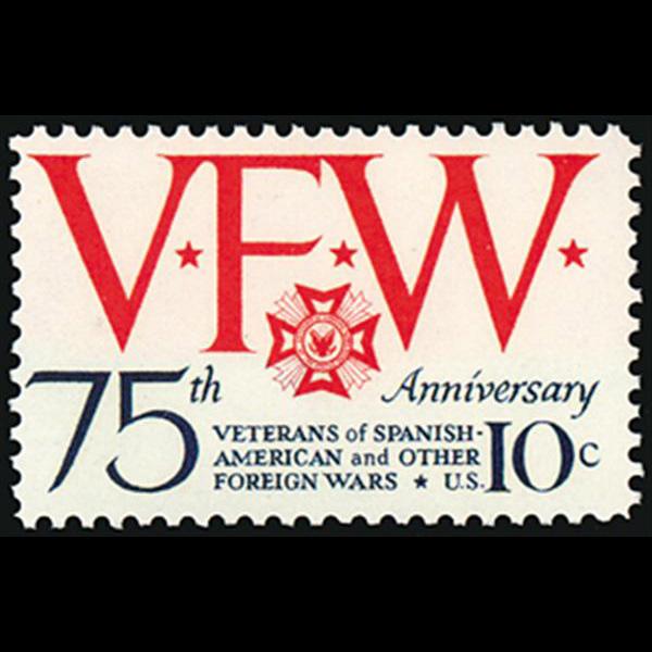 1974 10c Veterans of Foreign War Mint Single