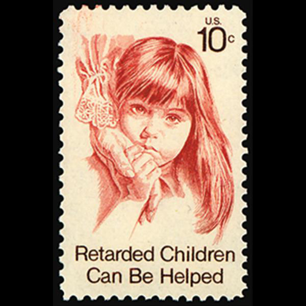1974 10c Retarded Children Mint Single