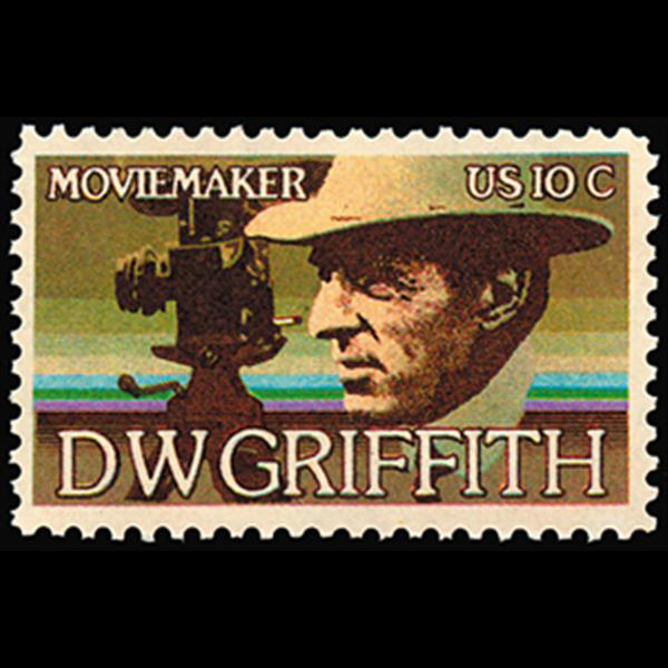 1975 10c D.W. Griffith-Arts Mint Single