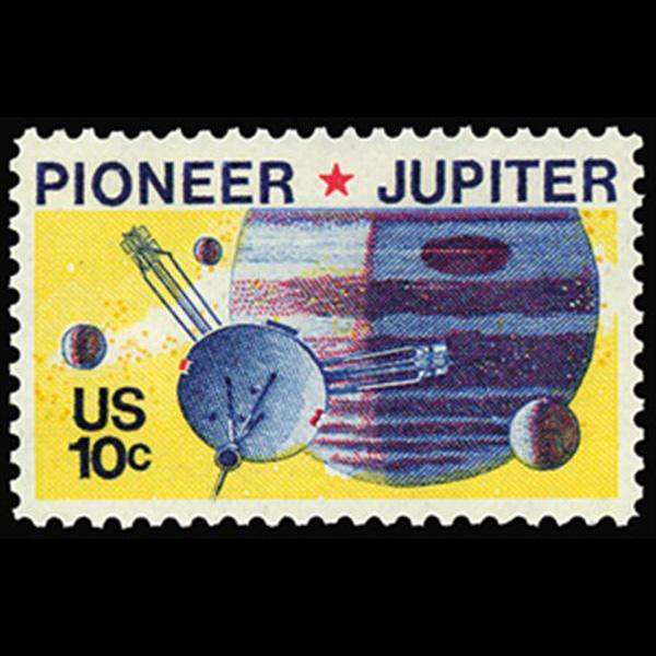 1975 10c Pioner 10 Mint Single