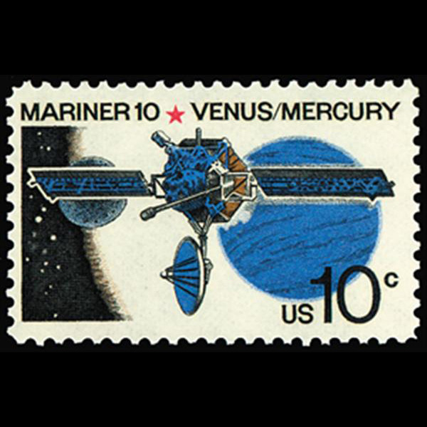1975 10c Mariner 10 Mint Single