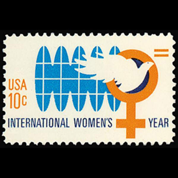 1975 10c International Women's Year Mint Single