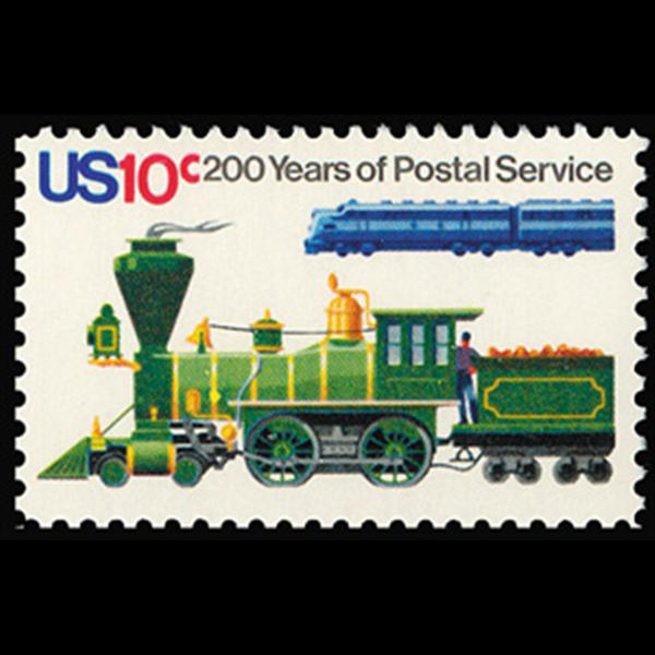 1975 10c Locomotives Mint Single