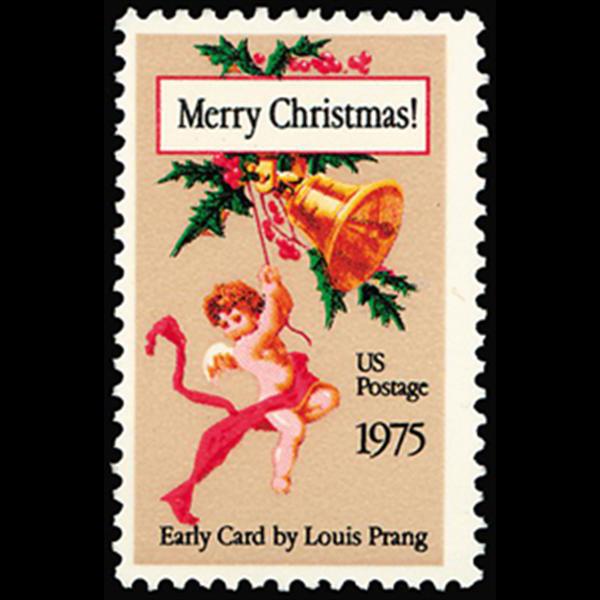 1975 10c Christmas Card Mint Single