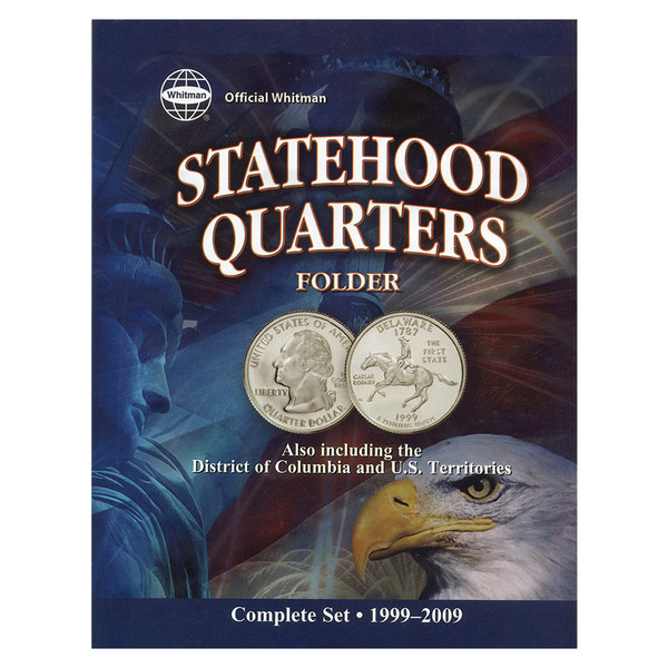 Official Whitman Statehood Quarter Folder