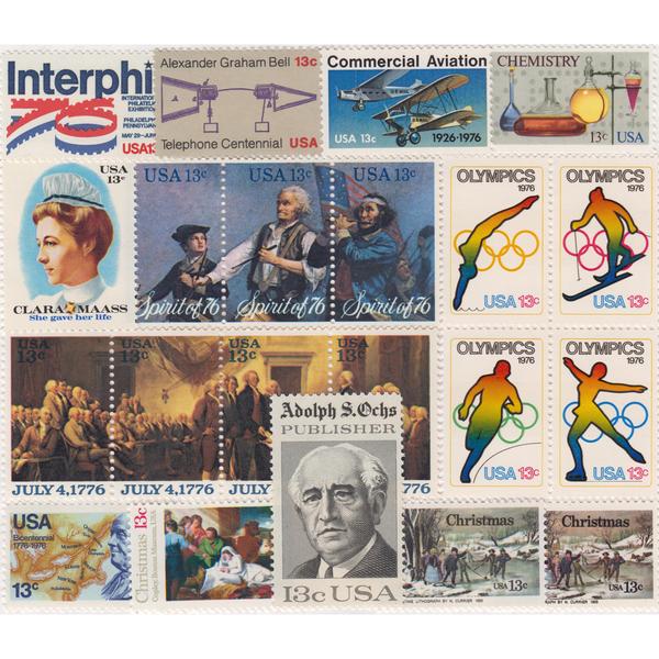 1976 Commemorative Mint Year Set