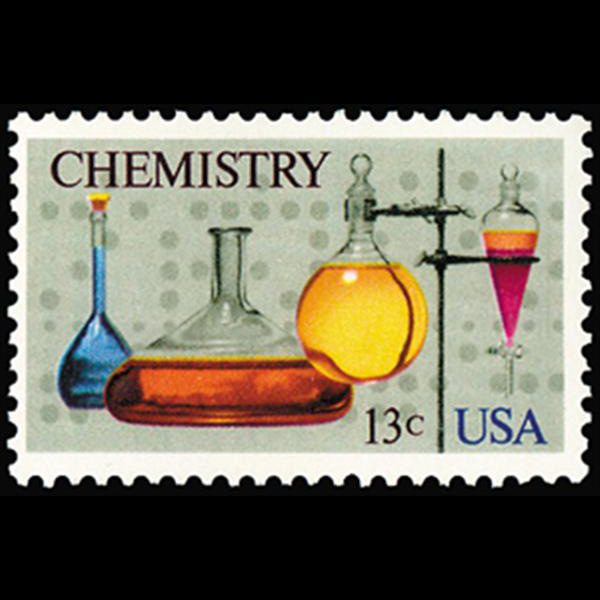 1976 13c Chemistry Mint Single