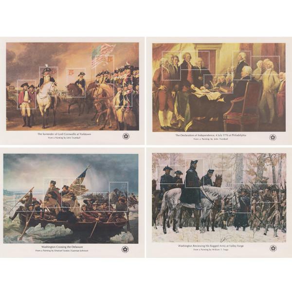 1976 Bicentennial Souvenir Sheets
