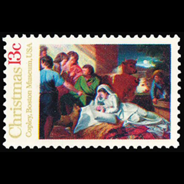 1976 13c Nativity Mint Single
