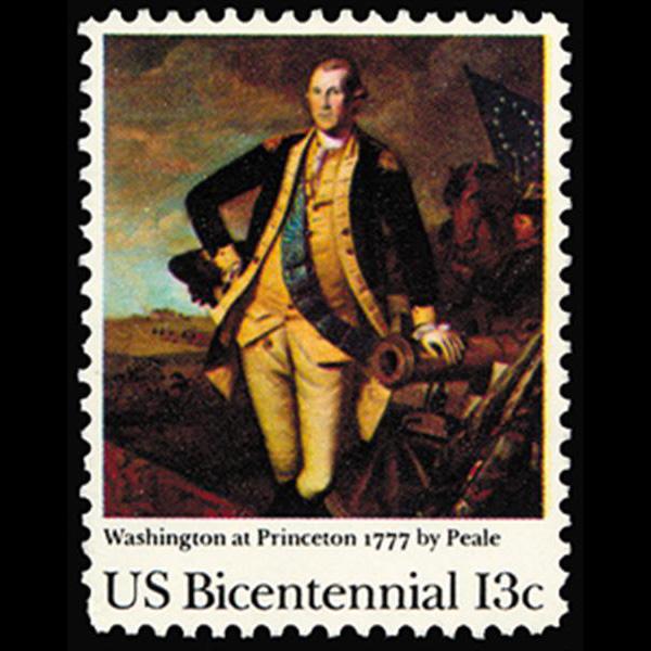 1977 13c Princeton Mint Single