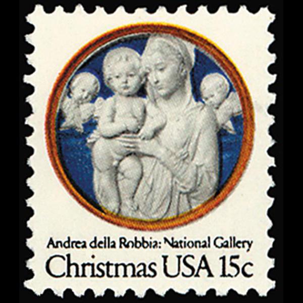 1978 15c Madonna Christmas Mint Single