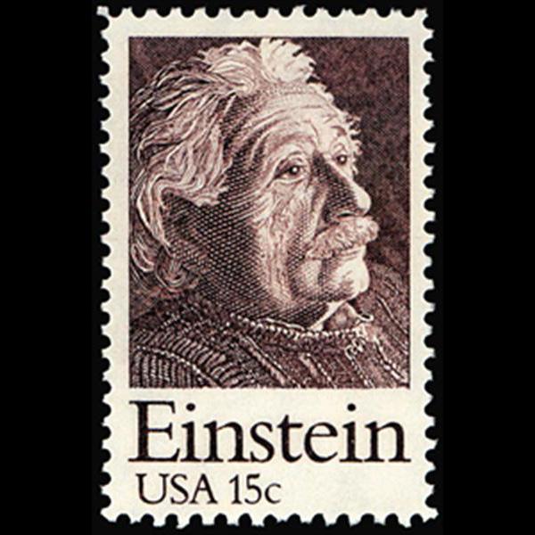 1979 15c Albert Einstein Mint Single