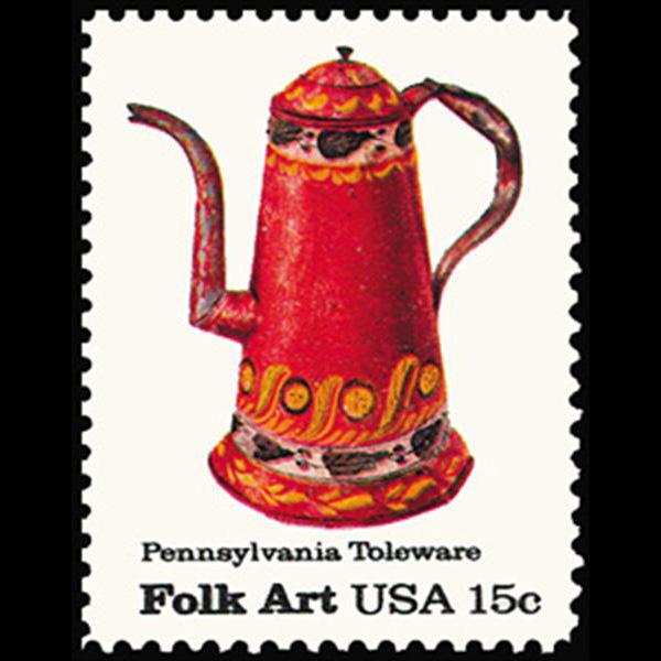 1979 15c Coffee Pot Mint Single