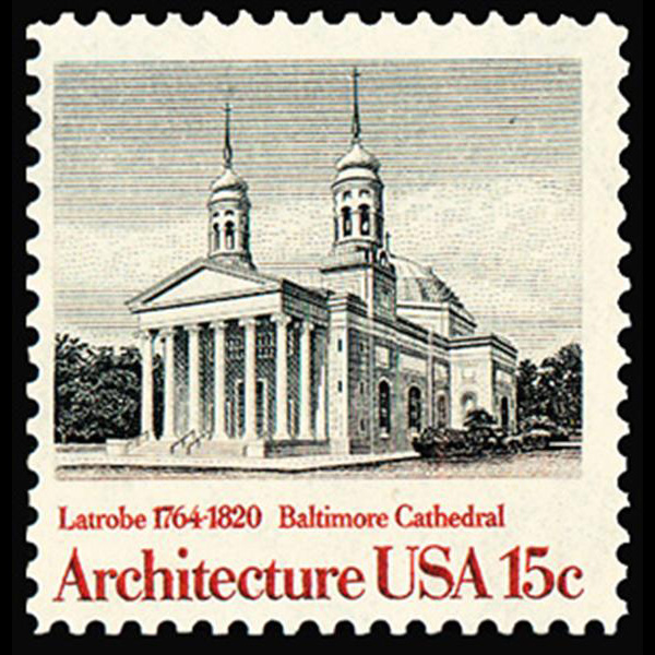1979 15c Baltimore Cathedral Mint Single