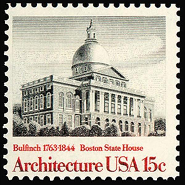1979 15c Boston State House Mint Single