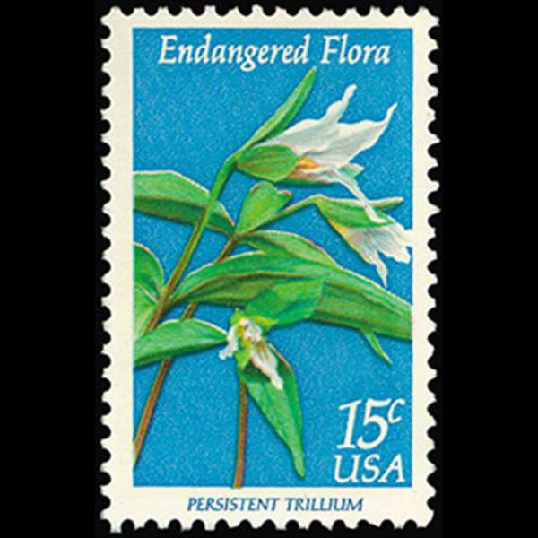 1979 15c Trillium Mint Single