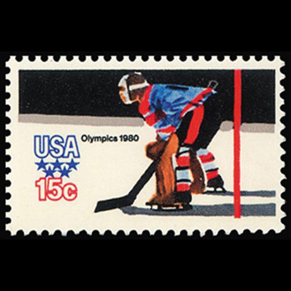 1979 15c Hockey Mint Single