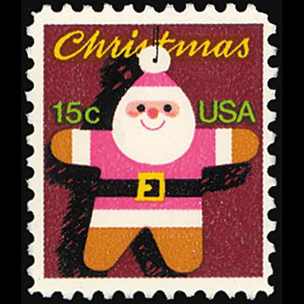 1979 15c Christmas-Santa Claus Mint Single