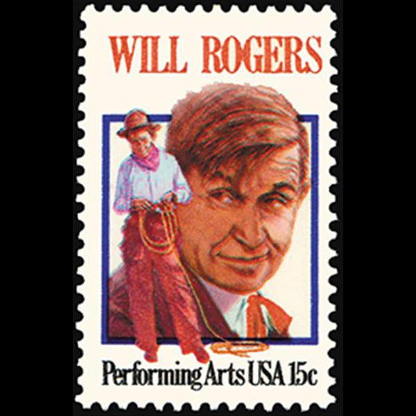 1979 15c Will Rogers Mint Single