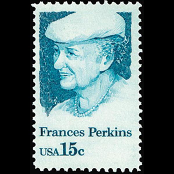 1980 15c Frances Perkins Mint Single