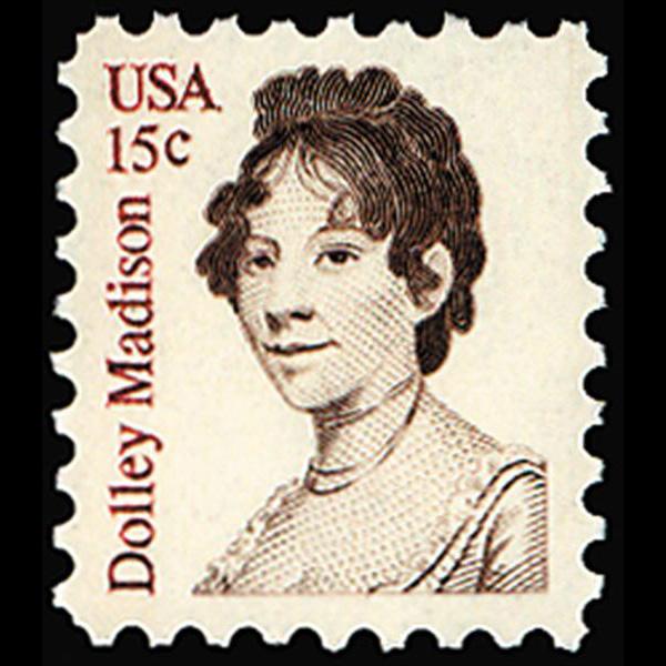 1980 15c Dolley Madison Mint Single