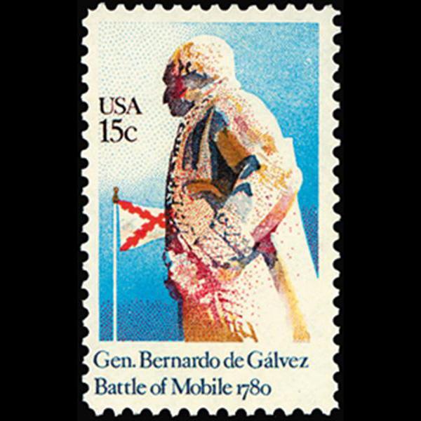 1980 15c General Bernardo de Galvez Mint Single