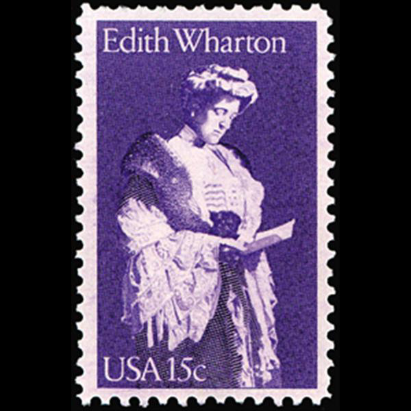 1980 15c Edith Wharton Mint Single