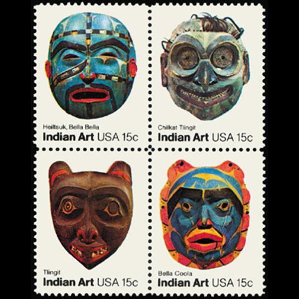 1980 15c American Folk Art Mint Block