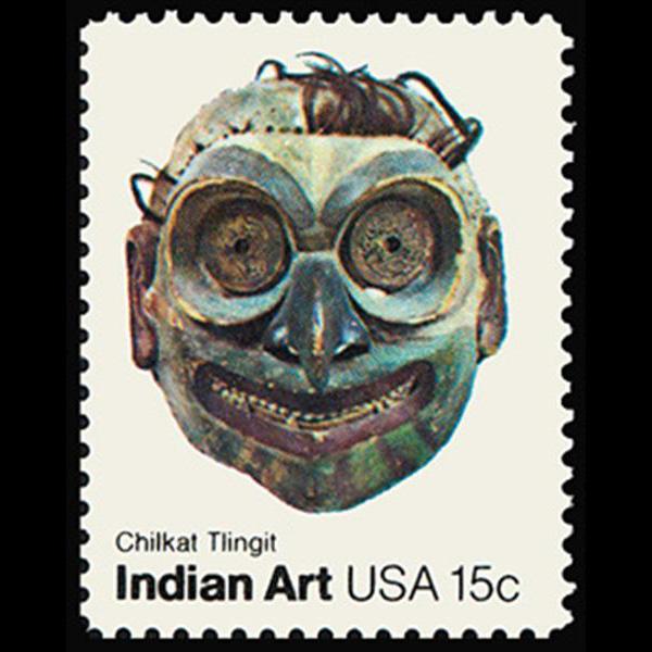 1980 15c Chilkat Tlingit Tribe Mint Single