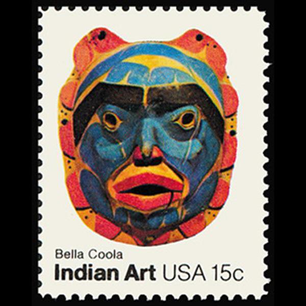 1980 15c Bella Coola Tribe Mint Single