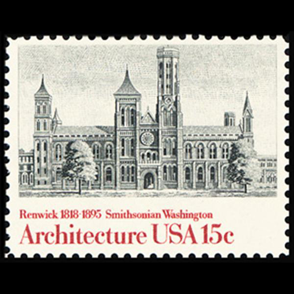 1980 15c Smithsonian Inst. Mint Single