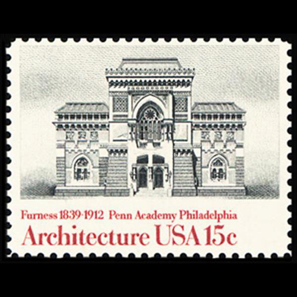 1980 15c Penn Academy Mint Single