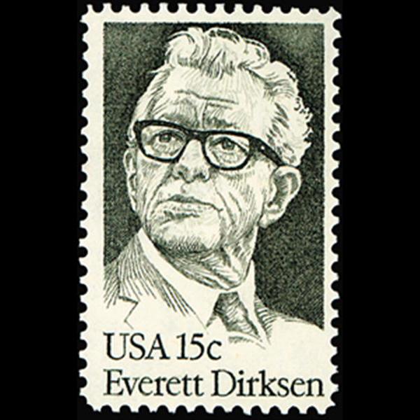 1981 15c Everett Dirksen Mint Single