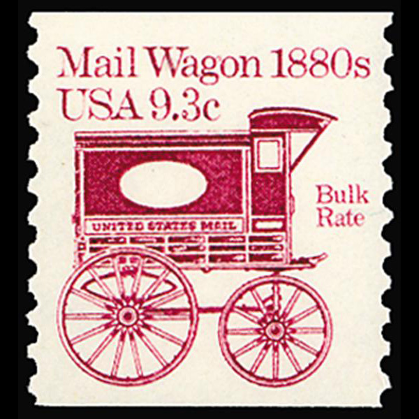 1981 9.3c Mail Wagon Mint Single