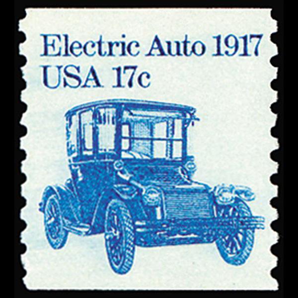 1981 17c Electric Car Mint Single