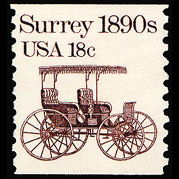 1981 18c Surrey Mint Single