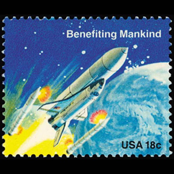 1981 18c Releasing Boosters Mint Single